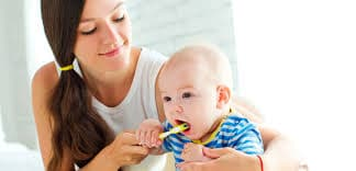 Growing Baby Teeth Care - How To Ease Baby Teething Problems